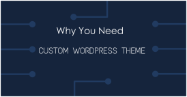 Why You Need Custom WP Theme? And Where?