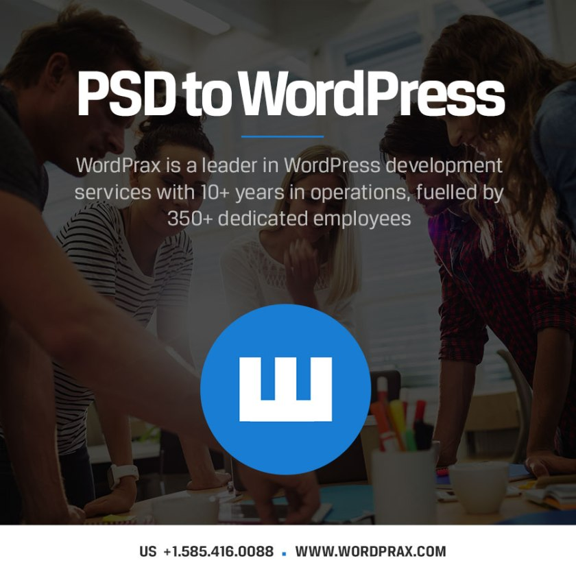 PSD to WordPress